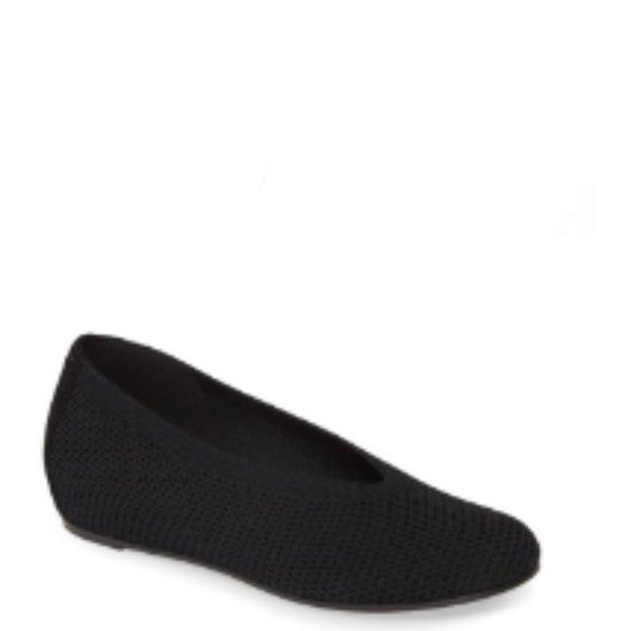 Eileen Fisher Women's Knit Wedge Flats